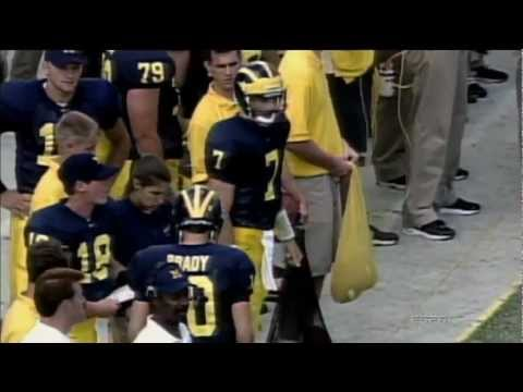 Tom Brady at Michigan- The Comeback Kid (The Brady 6 excerpt)