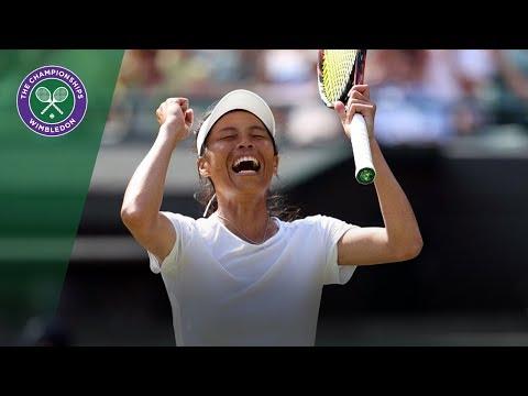 How Hsieh Su-Wei beat Simona Halep | Wimbledon 2018