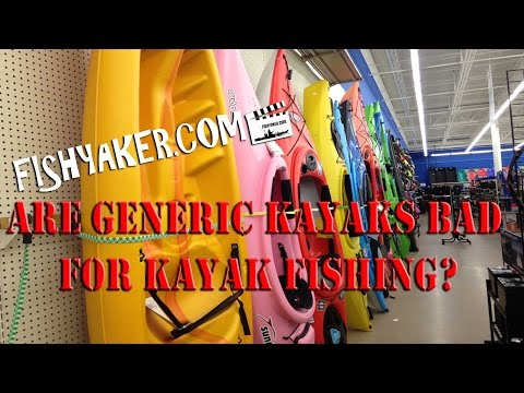 Are Generic Kayaks Good or Bad for the Sport of Kayak Fishing?: Episode 236
