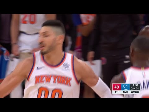 2nd Quarter, One Box Video: New York Knicks vs. Atlanta Hawks