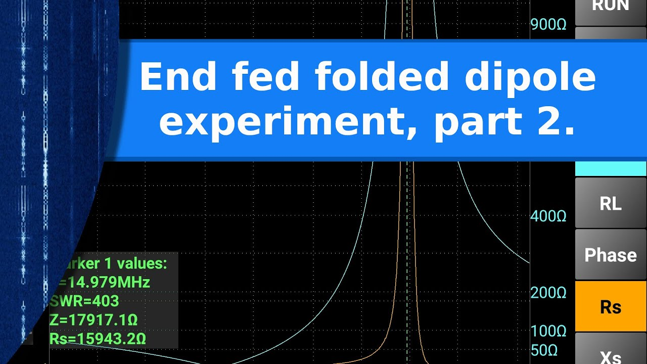 ham radio an end fed folded dipole experiment part 2 testing and direct tv satellite dish wiring diagram [ 1280 x 720 Pixel ]
