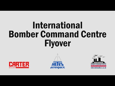 International Bomber Command Centre Flyover