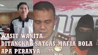 WASIT WANITA PERTAMA DI JATENG TERCIDUK SATGAS MAFIA BOLA- MAFIA PENGATURAN SKOR LIGA INDONESIA