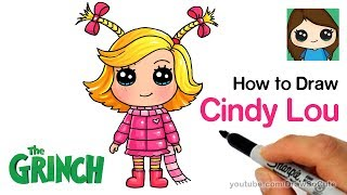 How to Draw Cindy Lou Who | The Grinch