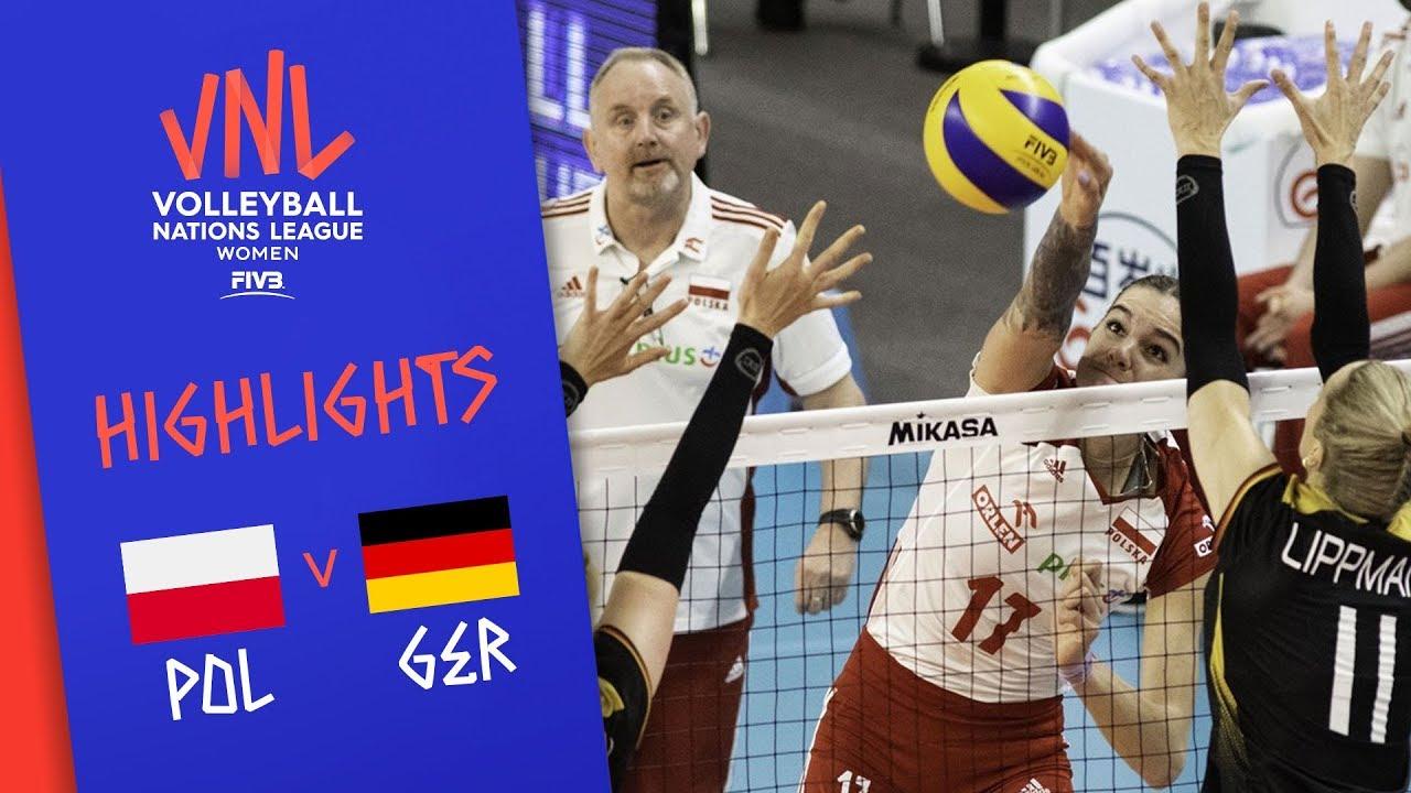 Volleyball Deutschland Polen