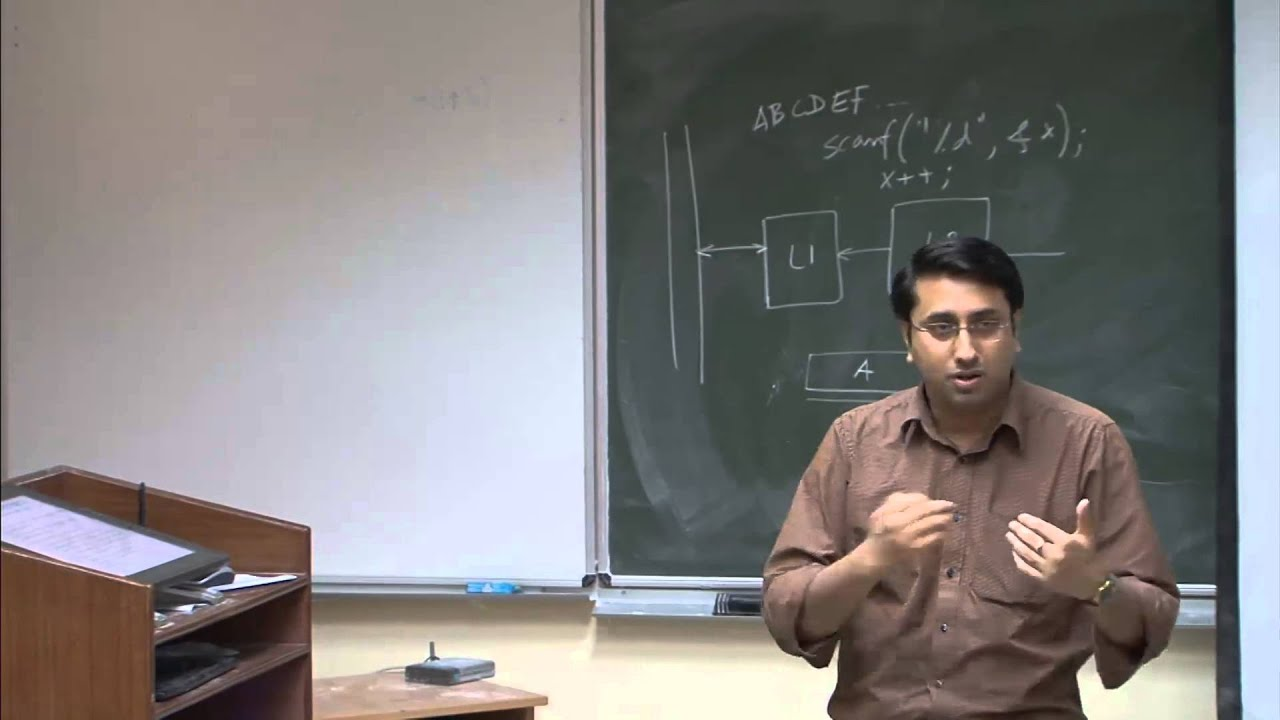 Mod-01 Lec-28 Topics in memory system, DRAM and SRAM technology