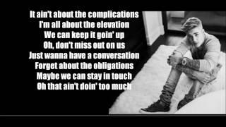 Company - Justin Bieber (Lyrics)