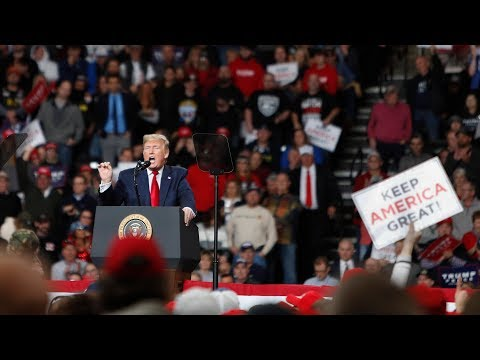 Trump holds a campaign rally in Wisconsin – watch live