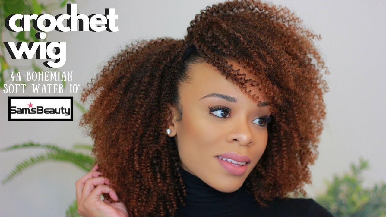 Diy Crochet Wig Caribbean Bundle 4a Soft Water 10 Samsbeauty