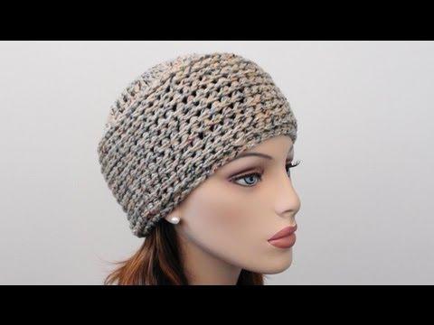 Crochet Shell Beanie - How to Crochet Shell Beanie - YouTube bf56617d1f34