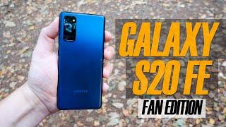 Samsung Galaxy S20 FE (Fan Edition) - Обзор
