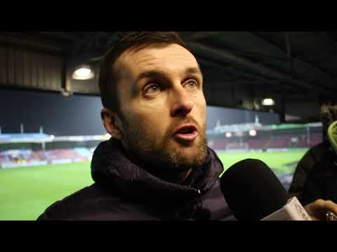 Nathan Jones on the 2-0 win over Scunthorpe United