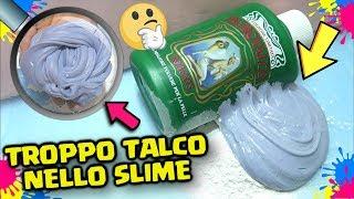 Aggiungo TROPPO TALCO allo slime: Borotalco Slime   TROPPI INGREDIENTI nello SLIME! by FrancyDreams