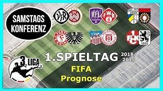 3.Liga I Spieltag 1 - Samstagkonferenz  - FIFA 18 Prognose 2018/19 Deutsch (HD)