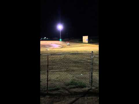 Ethan's 125 feature race 4/25/15 Texoma Motor Speedway