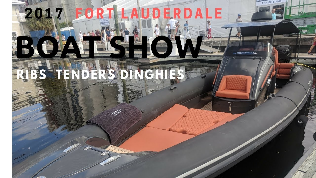 2017 Flibs Boat Show - Ribs Tenders and Dinghies