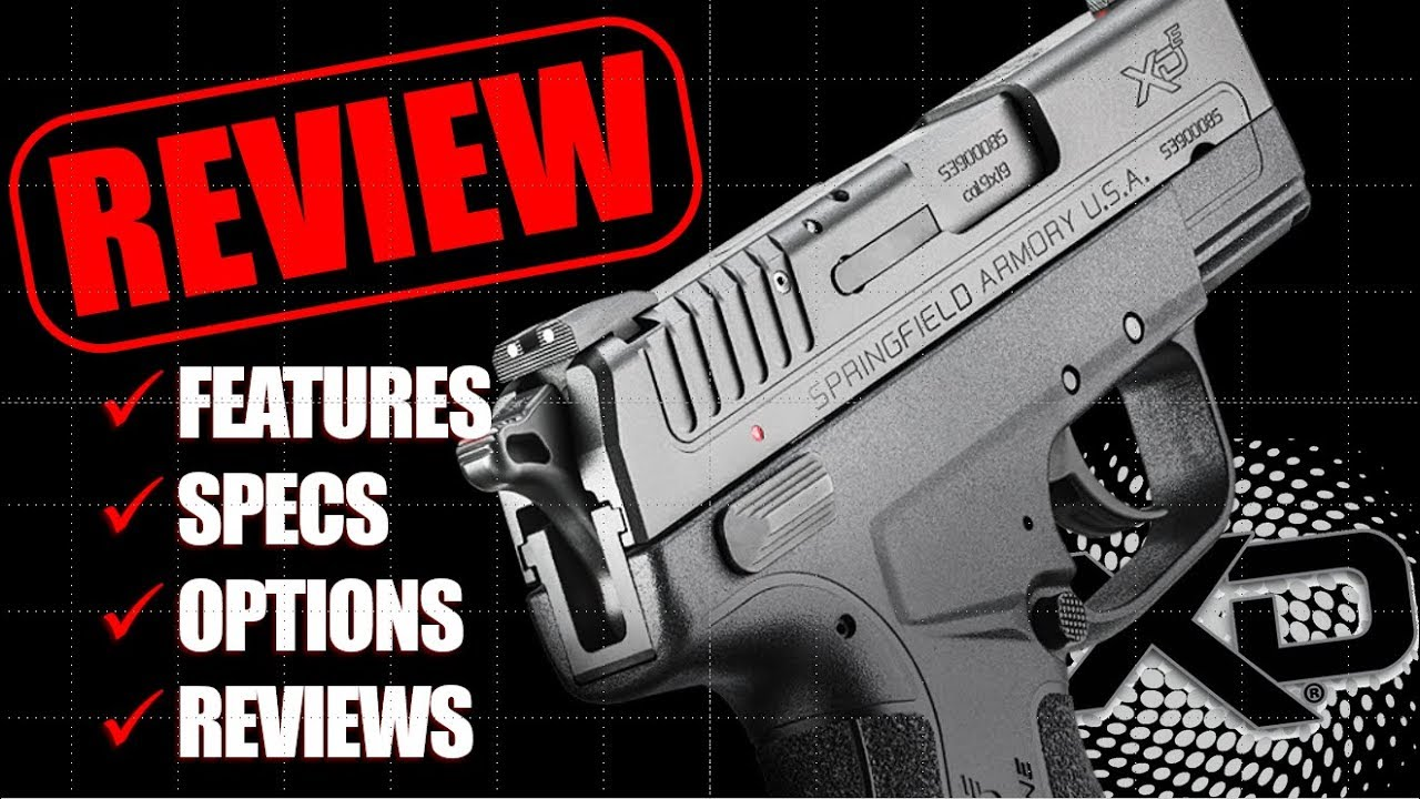 Springfield Armory XD Sub-Compact Black 9mm 3in Barrel 16rd