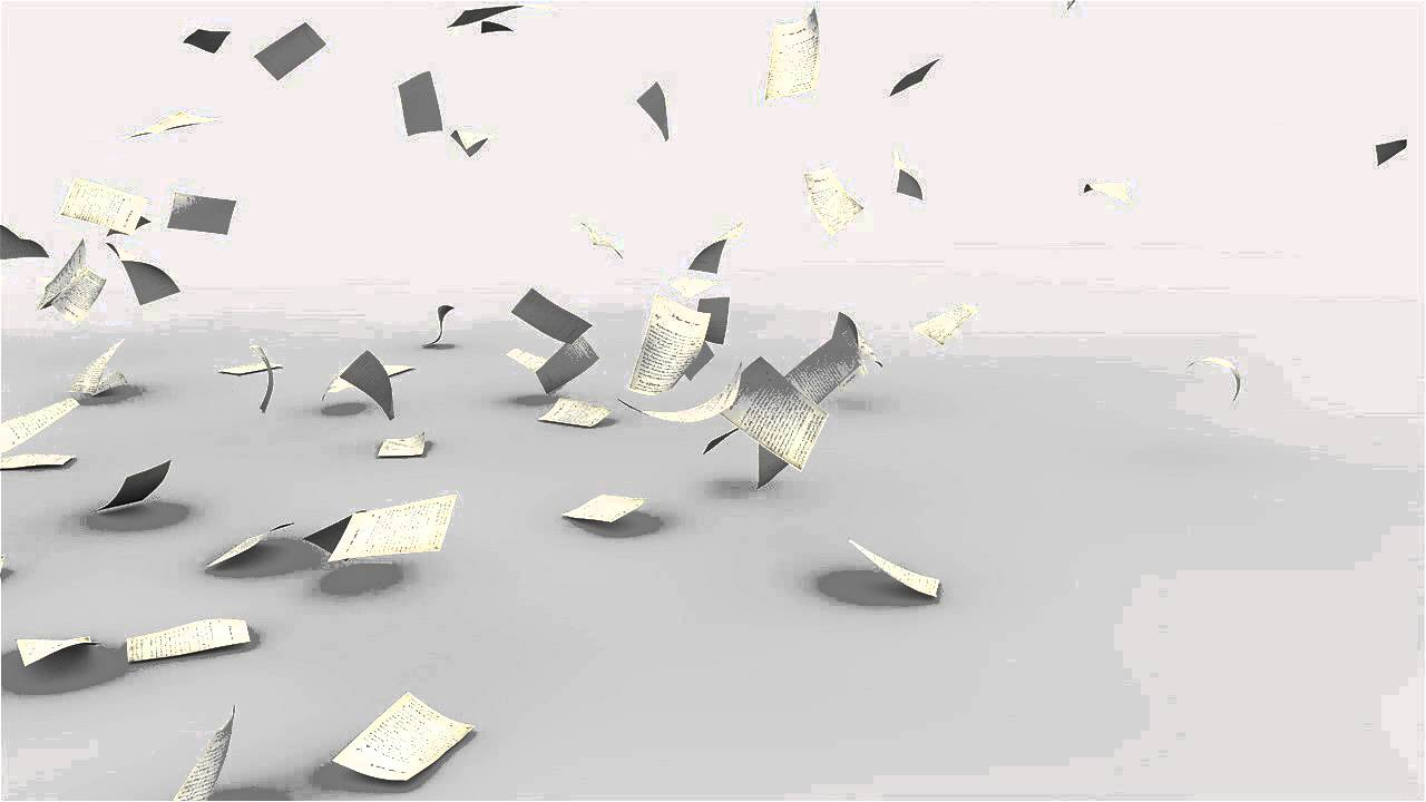 Cinema 4d Paper wind. - YouTube