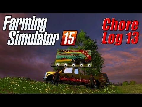 Farming Simulator 15: Chore Log 13 - SOLD!
