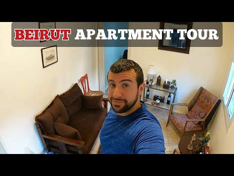 BEIRUT APARTMENT TOUR AND RENTAL PRICE WHERE NOT TO RENT 2021