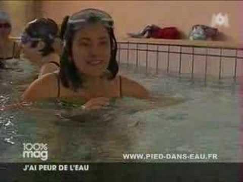 Dépasser sa peur de l'eau pour apprendre à nager