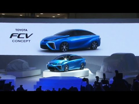 Burning hydrogen: Toyota launches new alternative to electric cars