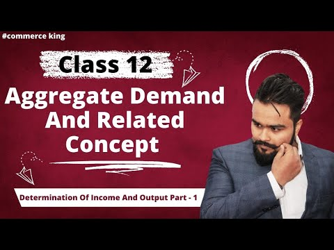#60, Aggregate Demand and it's components (Class 12 macroeconomics)