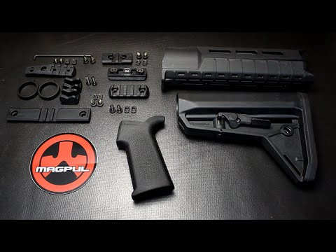 New Magpul MOE SL AR 15 Stock Furniture   YouTube