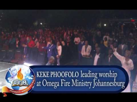 Prophet Keke LIVE in worship at Omega Fire Ministry South Africa