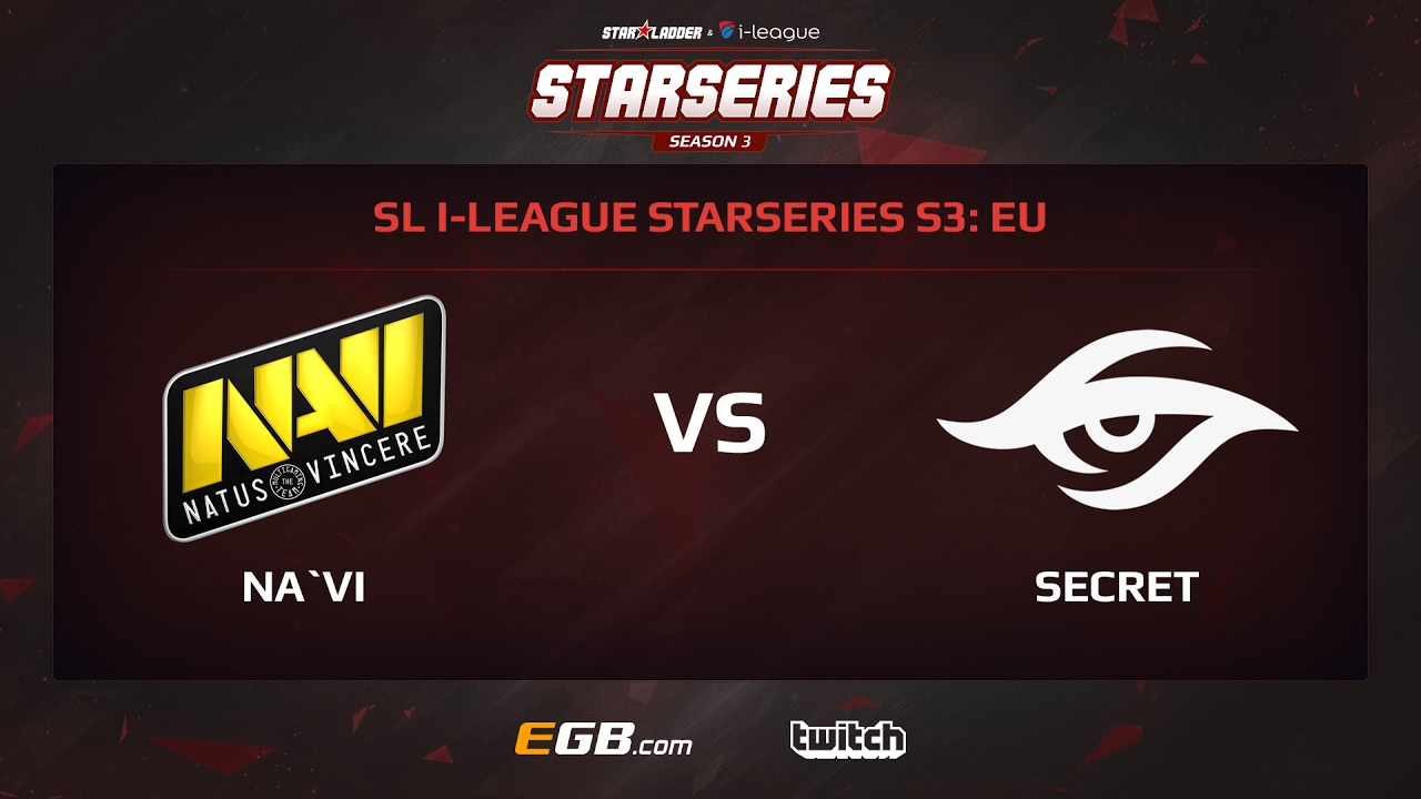 Natus Vincere vs Team Secret, Game 1, SL i-League StarSeries Season 3, EU