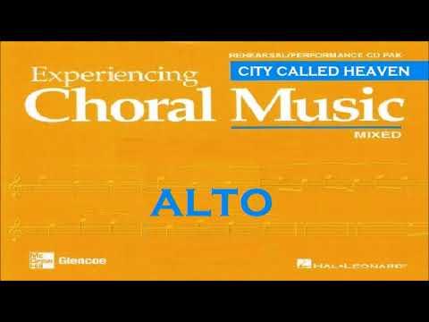 City Called Heaven ALTO satb