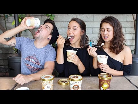 Halo Top Non-Dairy Taste Test - Yay or NAY?! 🤢