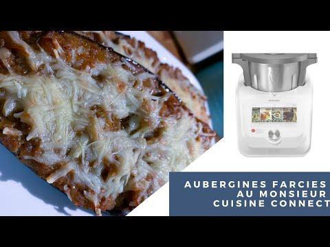 recette-d'aubergines-farcies-🍆🍆🍆-au-monsieur-cuisine-connect---simple-rapide-et-delicieuse-!!!!
