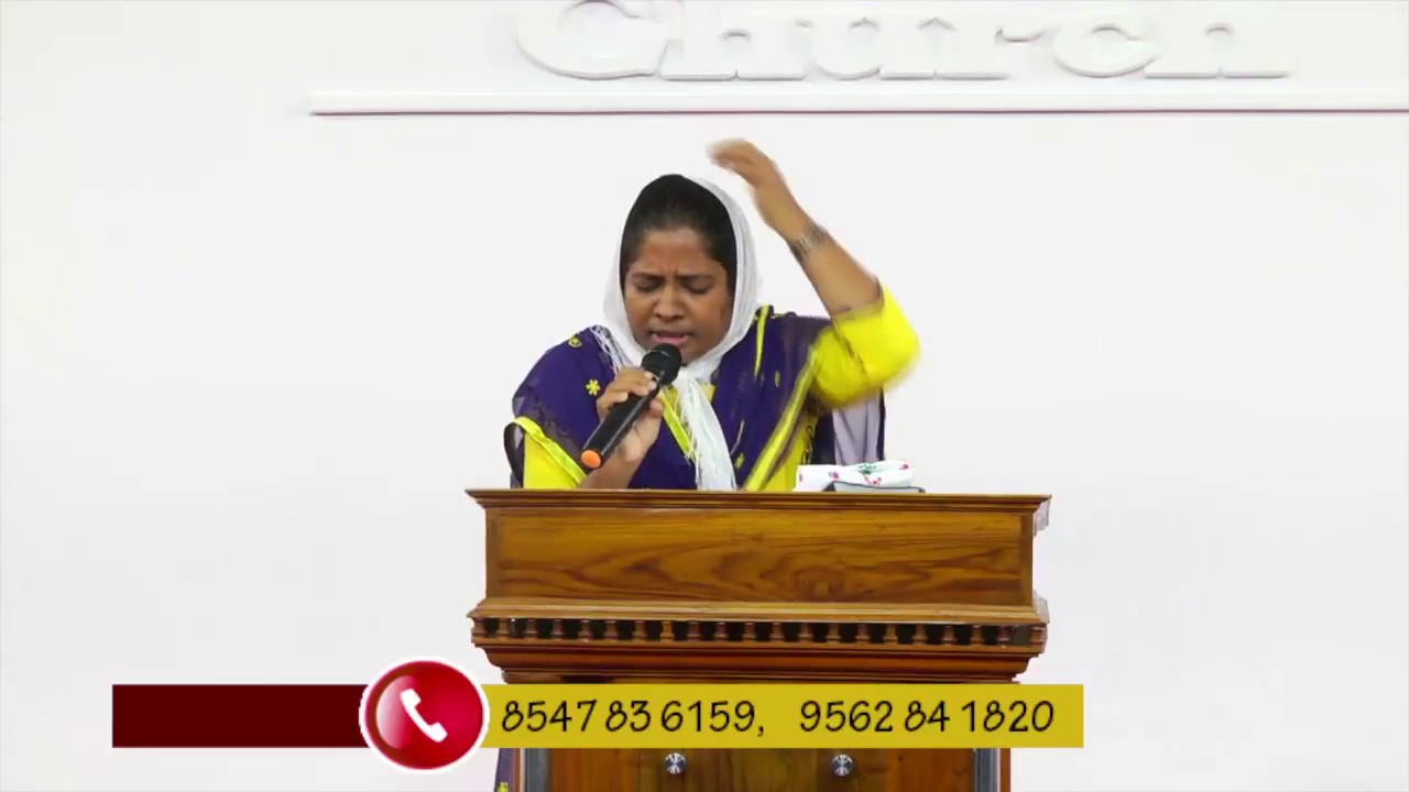 Sis.Ancy Shajan - Deliverance By Fire 24.08.2018