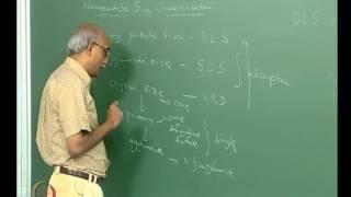 Mod-03 Lec-12 Morphological Characterization: Nano-particle size analysis