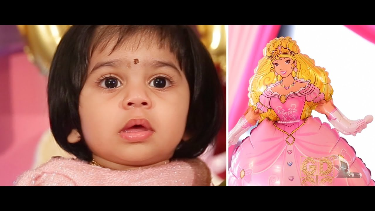 1st Year Birthday Highlights Of Baby Dhanniyaa By Golden