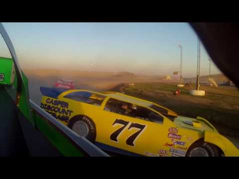 9/02/2018 Gillette Thunder Speedway Clash night 3 heat race (rear view)