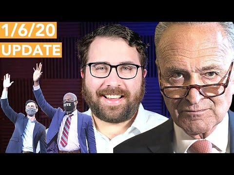 1/6 Update: Chuck Schumer Just Declared Himself Senate Majority Leader
