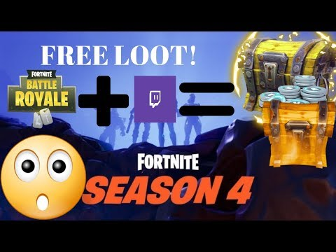 How To Connect Fortnite Account To Twitch Account! FREE LOOT!