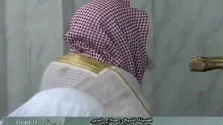 After 100 Days Sheikh Salah al Budair led Isha Prayer 18th January 2016