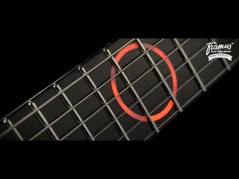 Framus Custom Shop Masterbuilt - Stormbender for Devin Townsend - Carbon Fiber Middle #17-3726