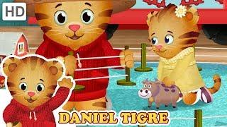 Daniel Tigre em Português 🐄 Brincando na Fazenda   Vídeos para Crianças