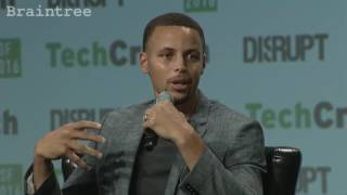 Steph Curry discusses Colin Kaepernick's protest at TechCrunch Disrupt SF 2016