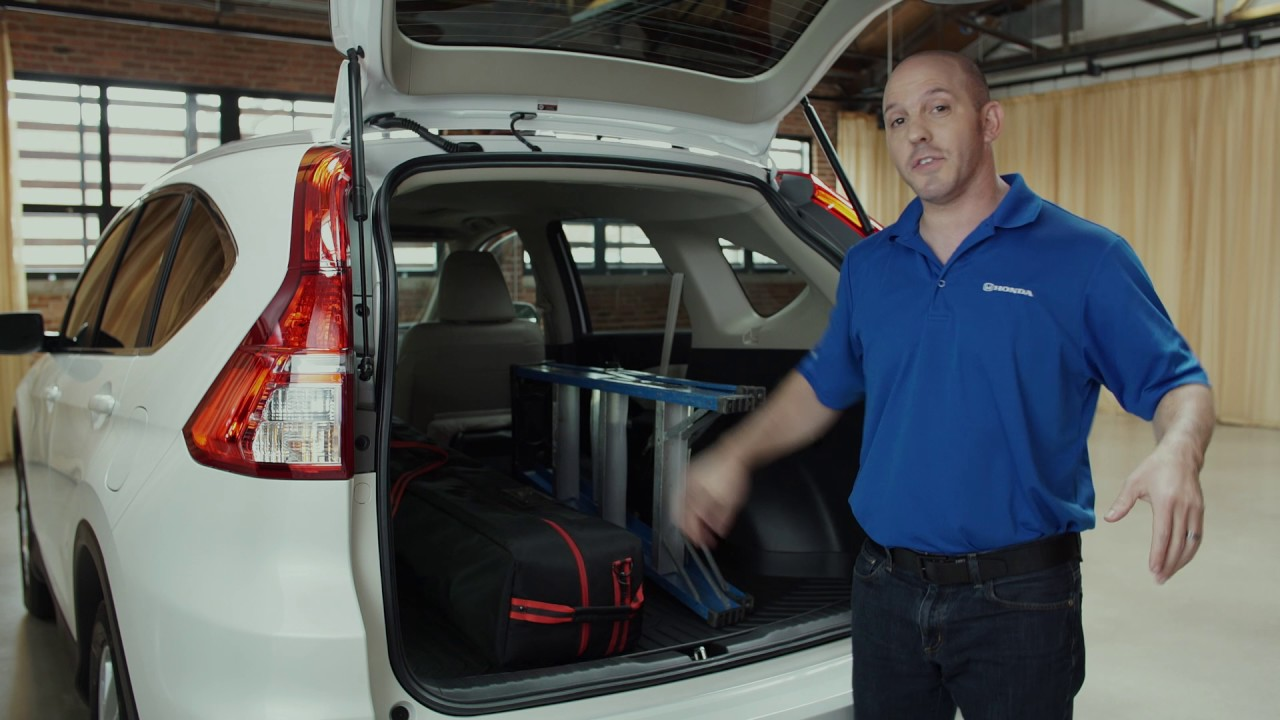 One Touch Folding Seat In The 2016 Honda CR V | Lundgren Honda Of Greenfield