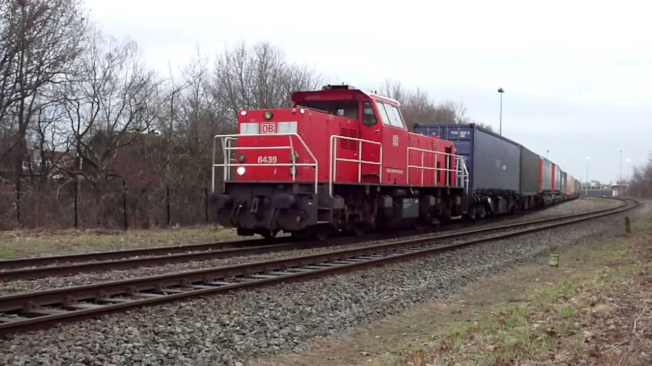 Freight Train must Stop! Diesel Locomotive Dutch Class6400 ...