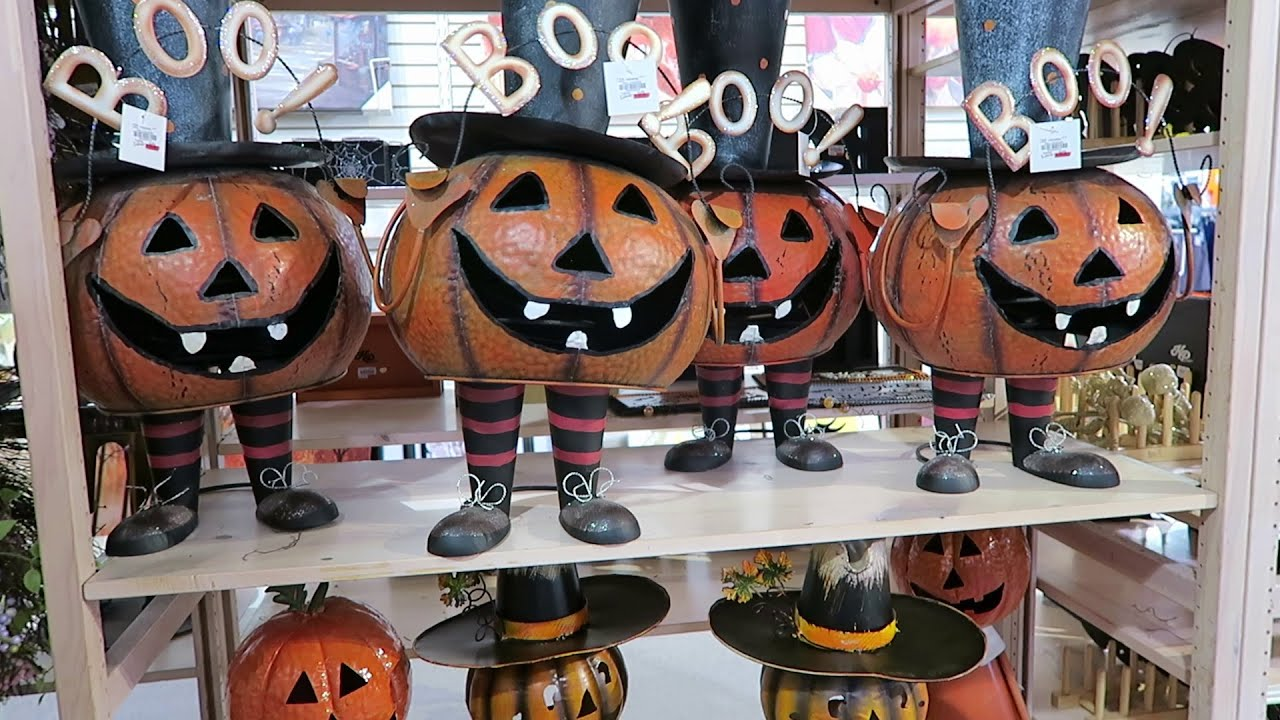big lots gordmans hallmark meijer fall halloween dcor preview 2015 youtube - Walmart Halloween Decorations