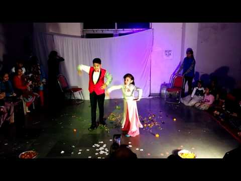 Idhar Chala Main Udhar Chala Dance Performance by Abhi and Pari