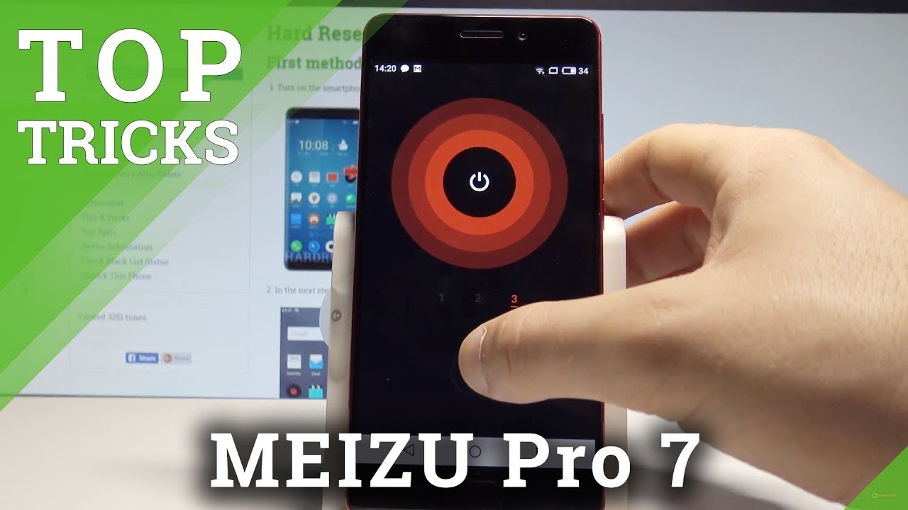 Top Tricks MEIZU Pro 7 - The Best Tips / Advanced Settings / Cool Features