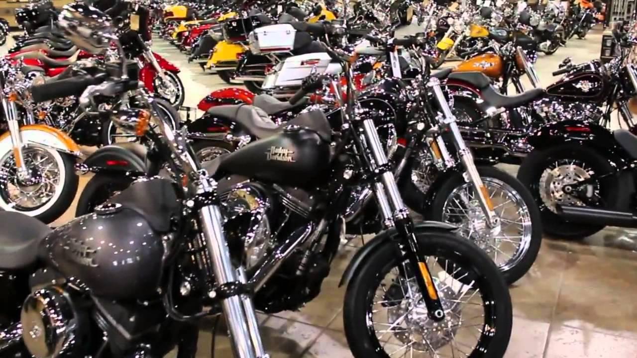 Abernathy's Harley-Davidson Inventory - YouTube
