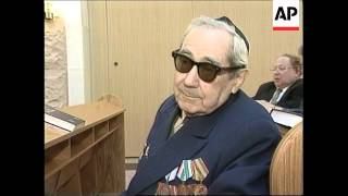 RUSSIA: MOSCOW: HOLOCAUST REMEMBRANCE DAY